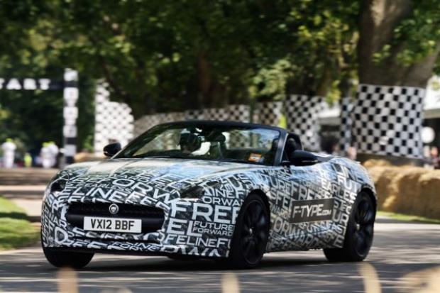 Pierwszy pokaz Jaguara F-Type
