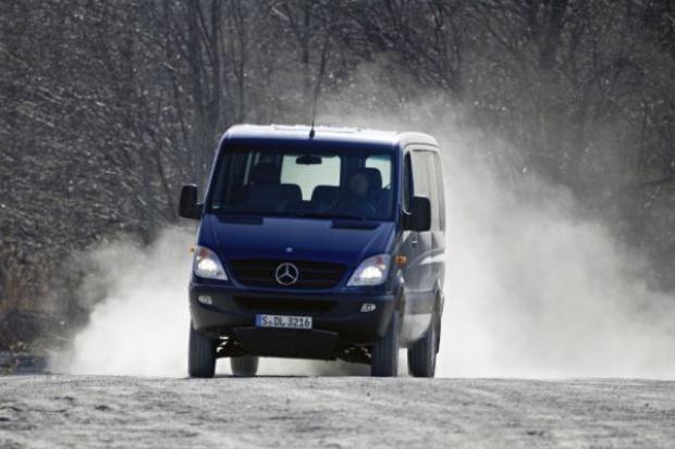 Mercedes zmodyfikował Sprintera