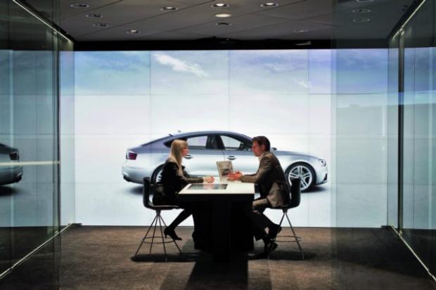 Pierwszy cyfrowy salon Audi
