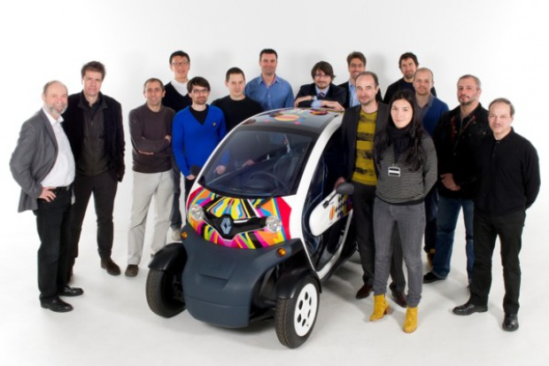 Renault Twizy z Red Dot Design Award
