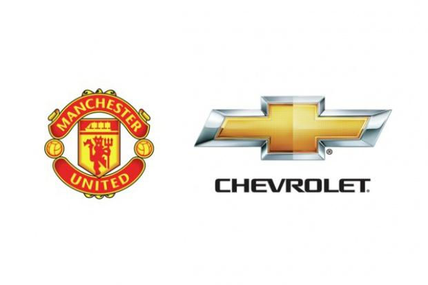 Chevrolet na koszulkach Manchesteru United