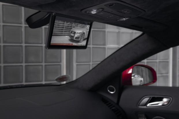 Cyfrowe lusterko w elektrycznym Audi