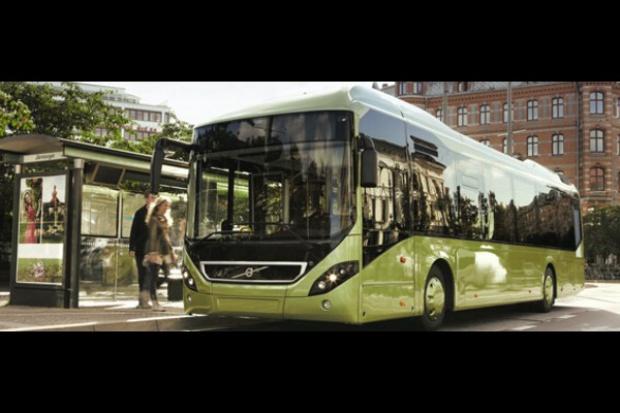 Volvo Buses: reflektory na hybrydy