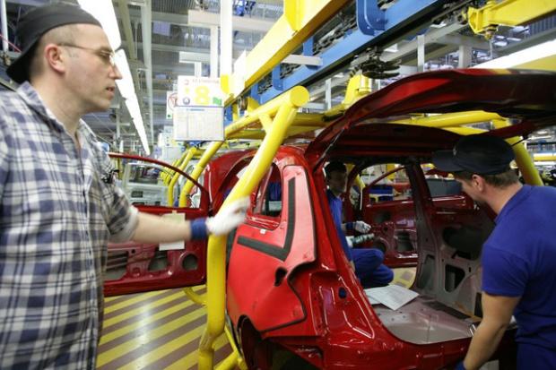Kryzys odbija się na eksporcie przemysłu motoryzacyjnego