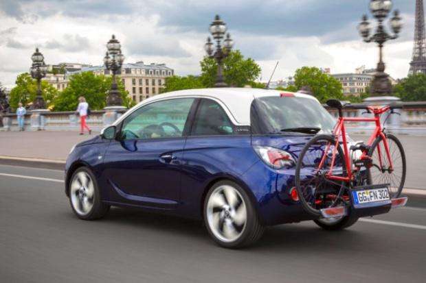 Opel Adam również na rower