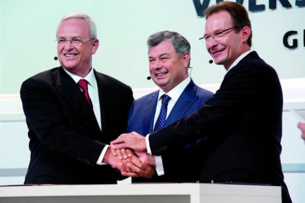 Koncern Volkswagen buduje fabrykę silników w Rosji