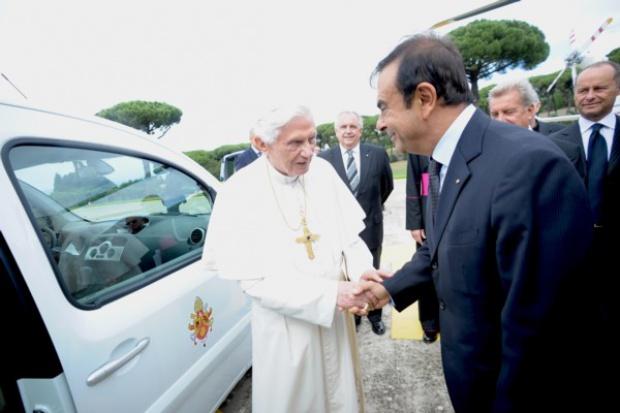 Elektryczne Renault dla Watykanu