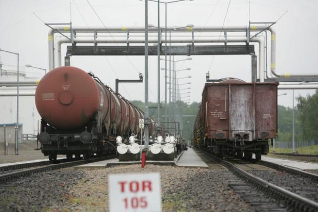 Ładunki niebezpieczne mają duży udział w przewozach koleją