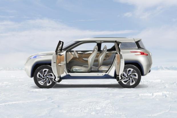 Pojazd niedalekiej przyszłości wg Nissana