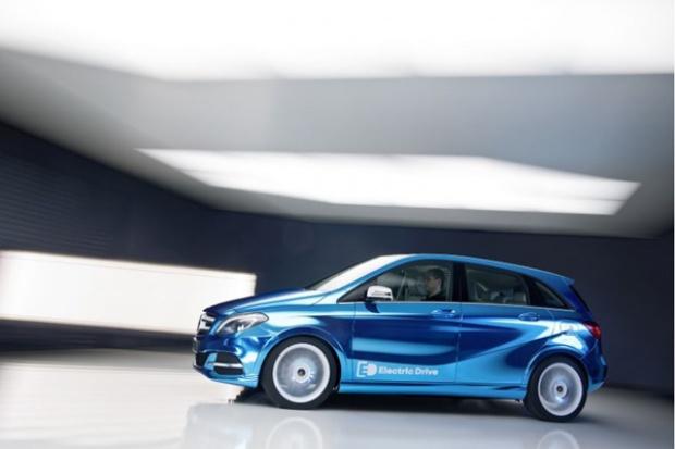 Nowy elektryczny Mercedes