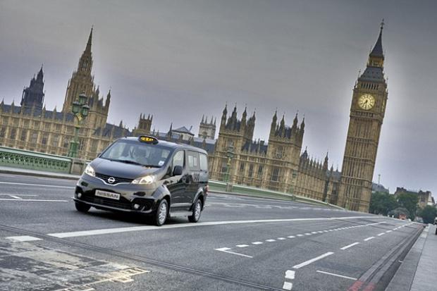 Taxi od Nissana dla .... Londynu?