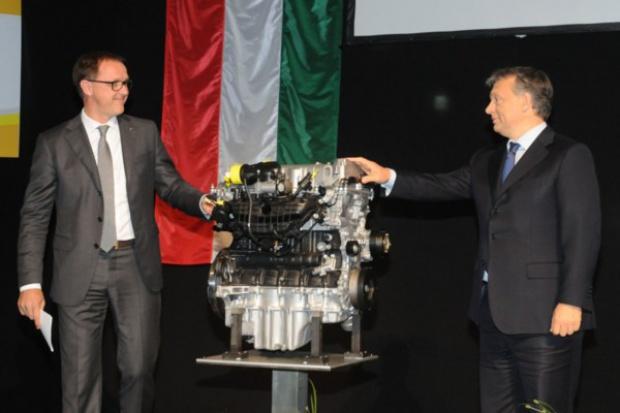 Nowe silniki Opla wyjeżdżają z Szentgotthard