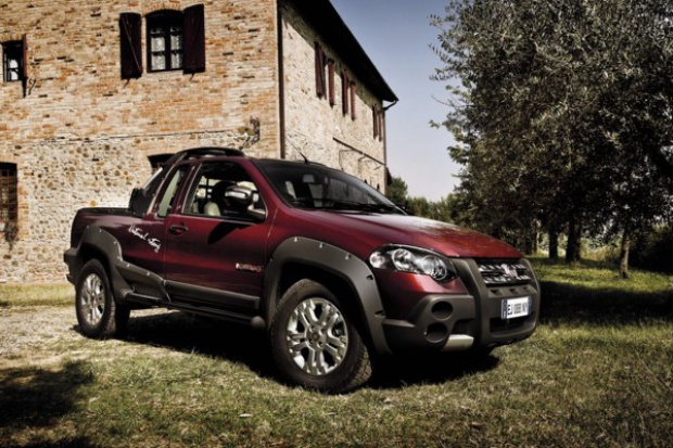 Fiat Strada do zadań specjalnych