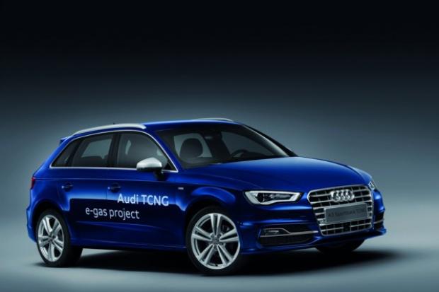 Oto Audi na gaz