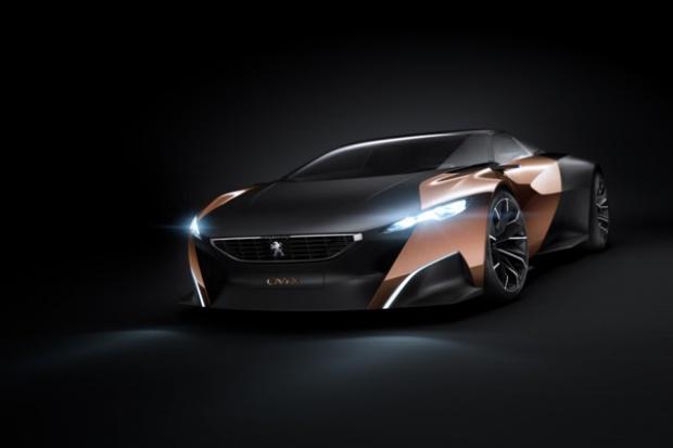 Peugeot Onyx - niecodzinna koncepcja wykorzystania materiałów