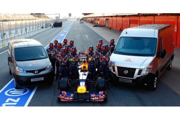 Dostawcze modele Nissana w Formule 1