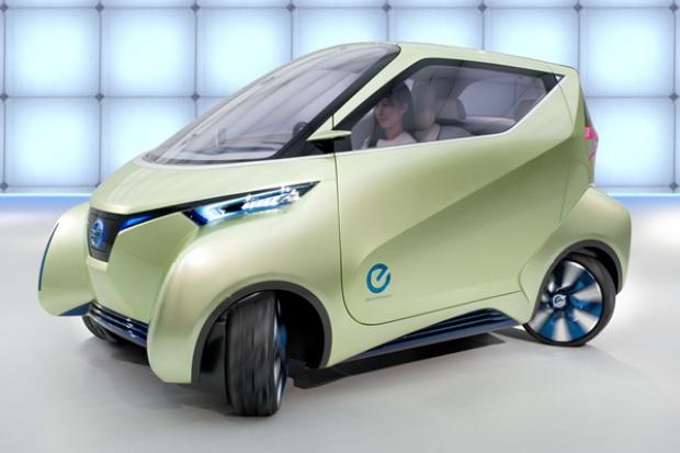 PIVO: pomysł Nissana na ciasne miasta