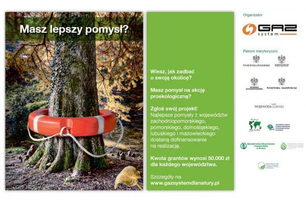 GAZ-SYSTEM S.A. ogłasza III edycję konkursu grantowego fundusz naturalnej energii