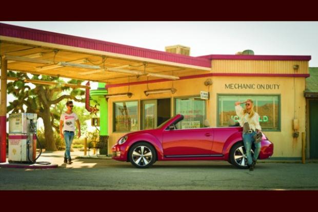Jeśli Nowy Beetle Cabriolet to tylko w Kalifornii