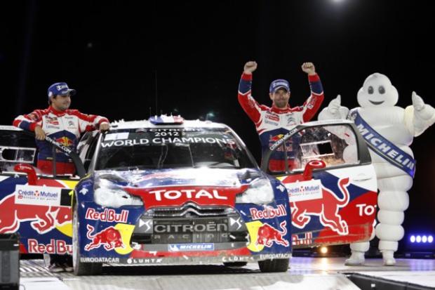 Loeb, Elena, Citroen: znowu mistrzowie