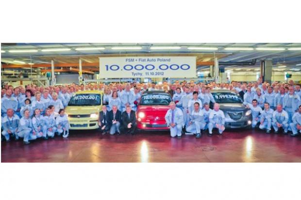 10 mln samochodów z zakładu Fiat Auto Poland i dawnej FSM