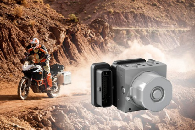 Bosch wprowadza dodatkowe funkcje w motocyklowym ABS