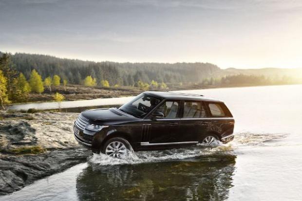 "Range Rover IV ""zrzucił"" 400 kg"