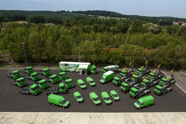 Francuska dostawa Iveco na gaz