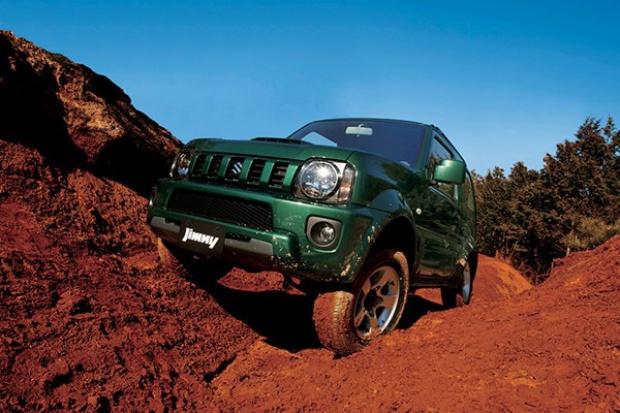Suzuki odświeżyło model Jimny