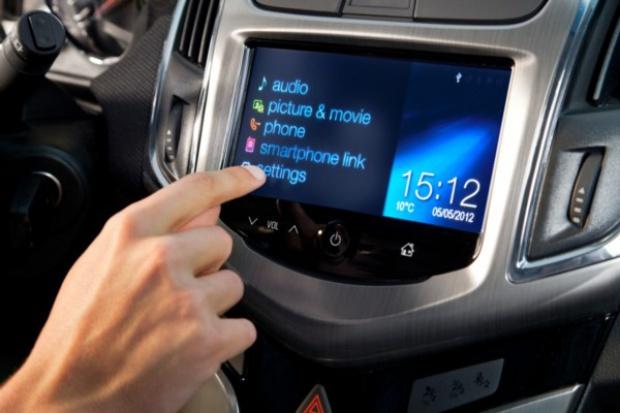 MyLink Chevroleta również w Polsce