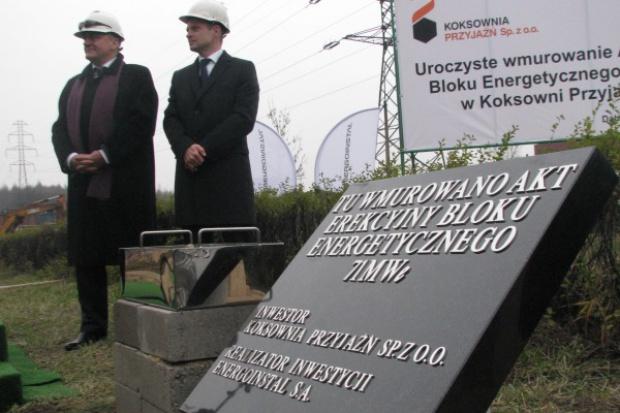 Koksownia Przyjaźń buduje blok energetyczny