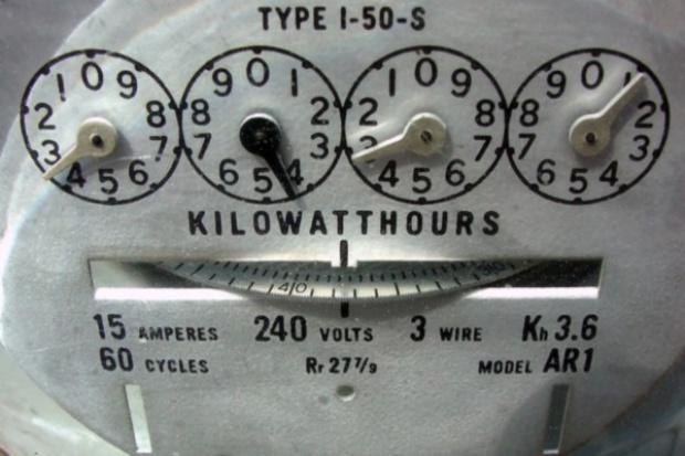 W październiku zużycie prądu mniejsze o 1,35 proc.