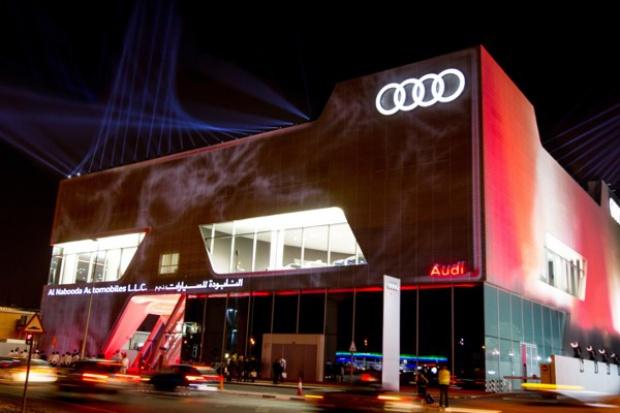 Największy na świecie salon Audi otwarto w Dubaju