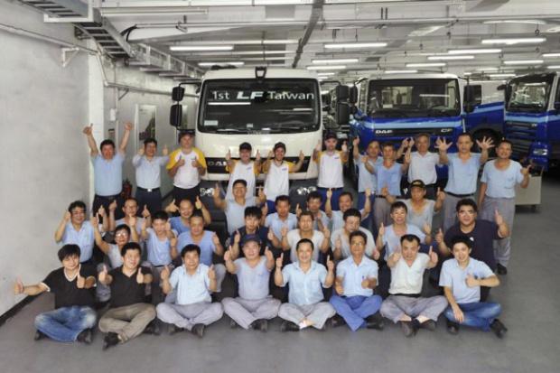 """DAF LF również """"made in Tajwan"""""""
