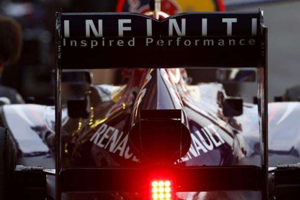 """""""Infiniti Red Bull Racing"""" w Formule 1"""