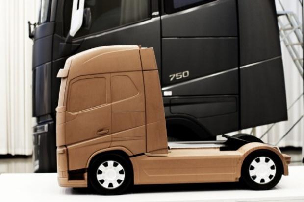 Tak wykuwała się ... nowa ciężarówka Volvo