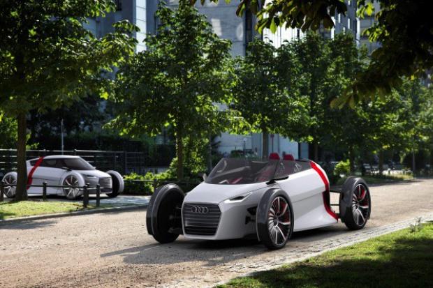 Mobilność jutra w Audi museum mobile