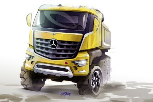 Budowlane modele Mercedesa będą nazywały się Arocs