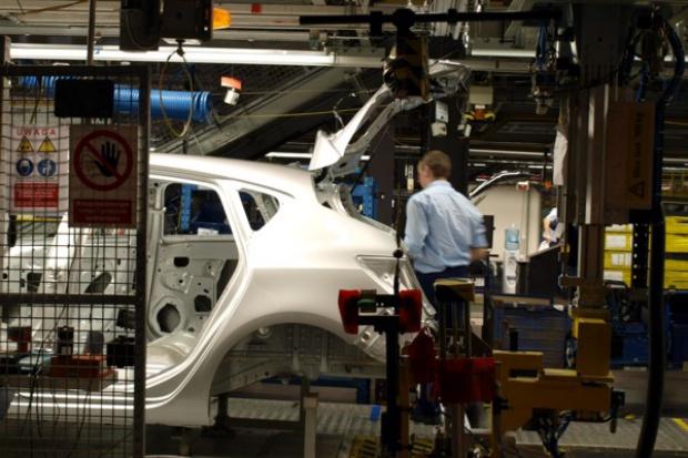 W listopadzie spadła produkcja samochodów