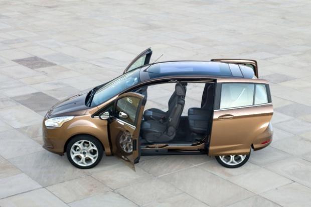 Europa Środkowo-Wschodnia nagradza Forda B-Max