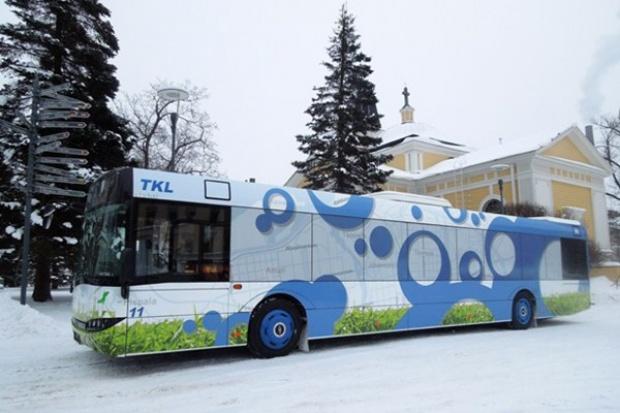 Solaris dostarczył pierwsze autobusy do Finlandii