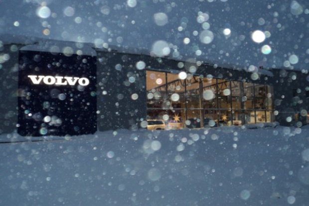 Salon Volvo 100 km od koła podbiegunowego