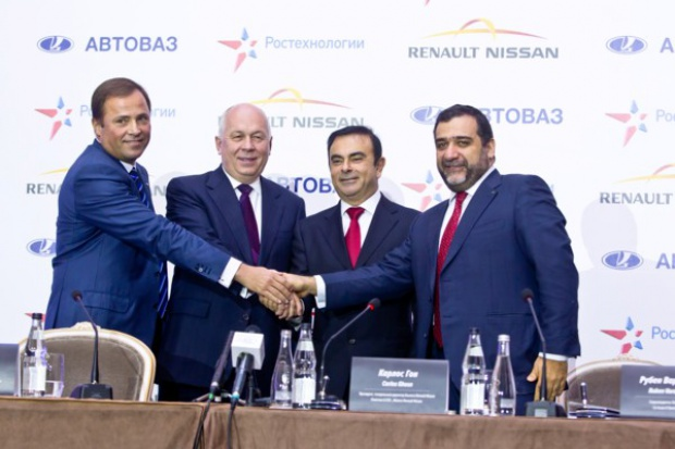 Renault-Nissan + Russian Technologies + AvtoVAZ = Rostec Auto BV