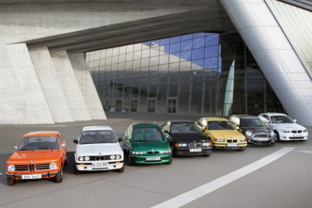 Cztery dekady elektrycznych aut BMW Group