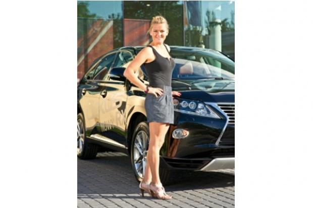 Lexus będzie towarzyszył Agnieszce Radwańskiej