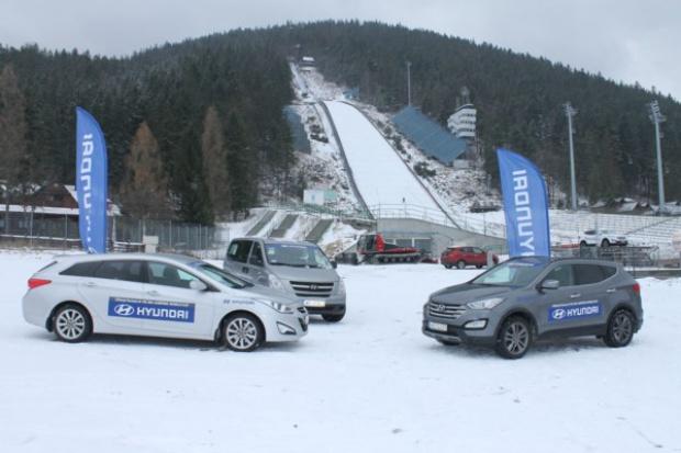 Hyundai: auta do obsługi zawodów Pucharu Świata w skokach narciarskich
