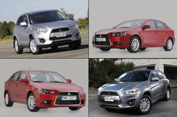 Top Safety Pick dla dwóch modeli Mitsubishi