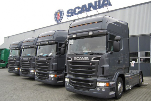 Scania przekazała setny pojazd Ecolution