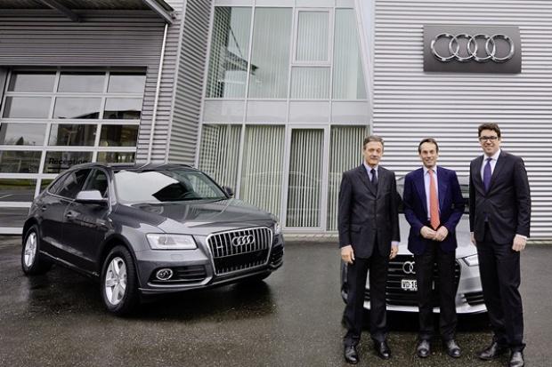 Audi olimpijczykiem