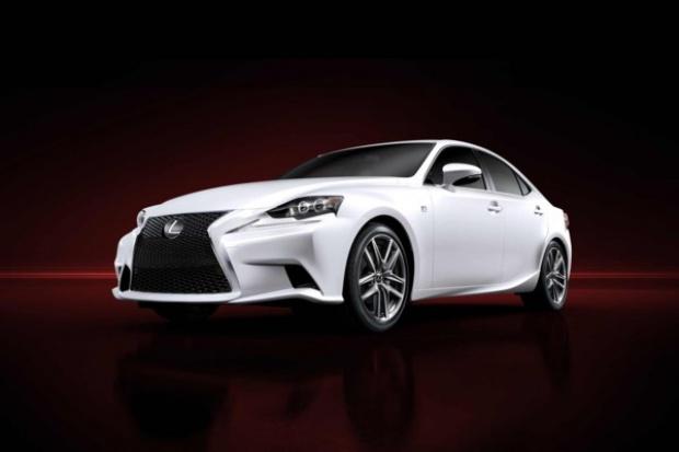 Oto nowy Lexus IS